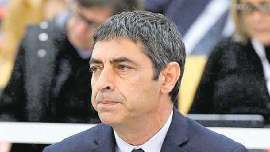 La Audiencia Nacional desliga a Trapero y a los Mossos del proceso soberanista