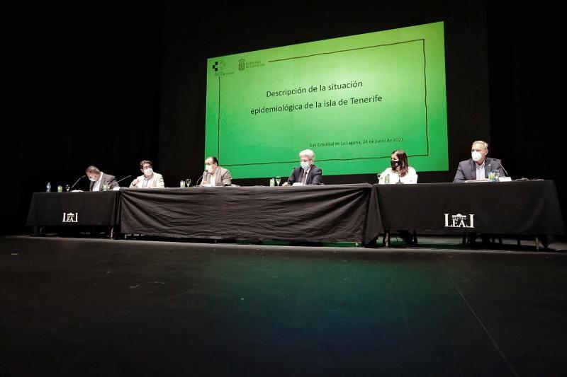 Blas Trujillo y Julio Pérez se reúnen con los alcaldes de Tenerife para estudiar las medidas COVID
