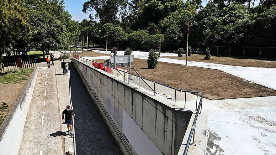 La reforma de la avenida del Molinón se amplía hasta el estadio con un modificado