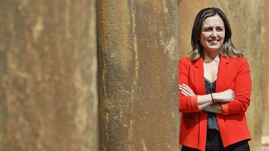 María Calvo será desde hoy la primera mujer al frente de la patronal asturiana