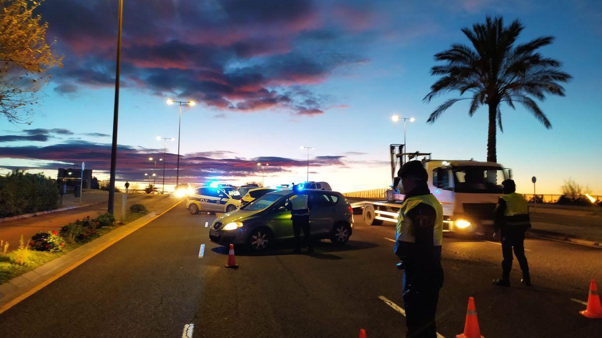 Control de la PLV en València.