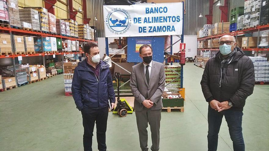 Más de 2.200 zamoranos se benefician del Programa de Ayuda Alimentaria