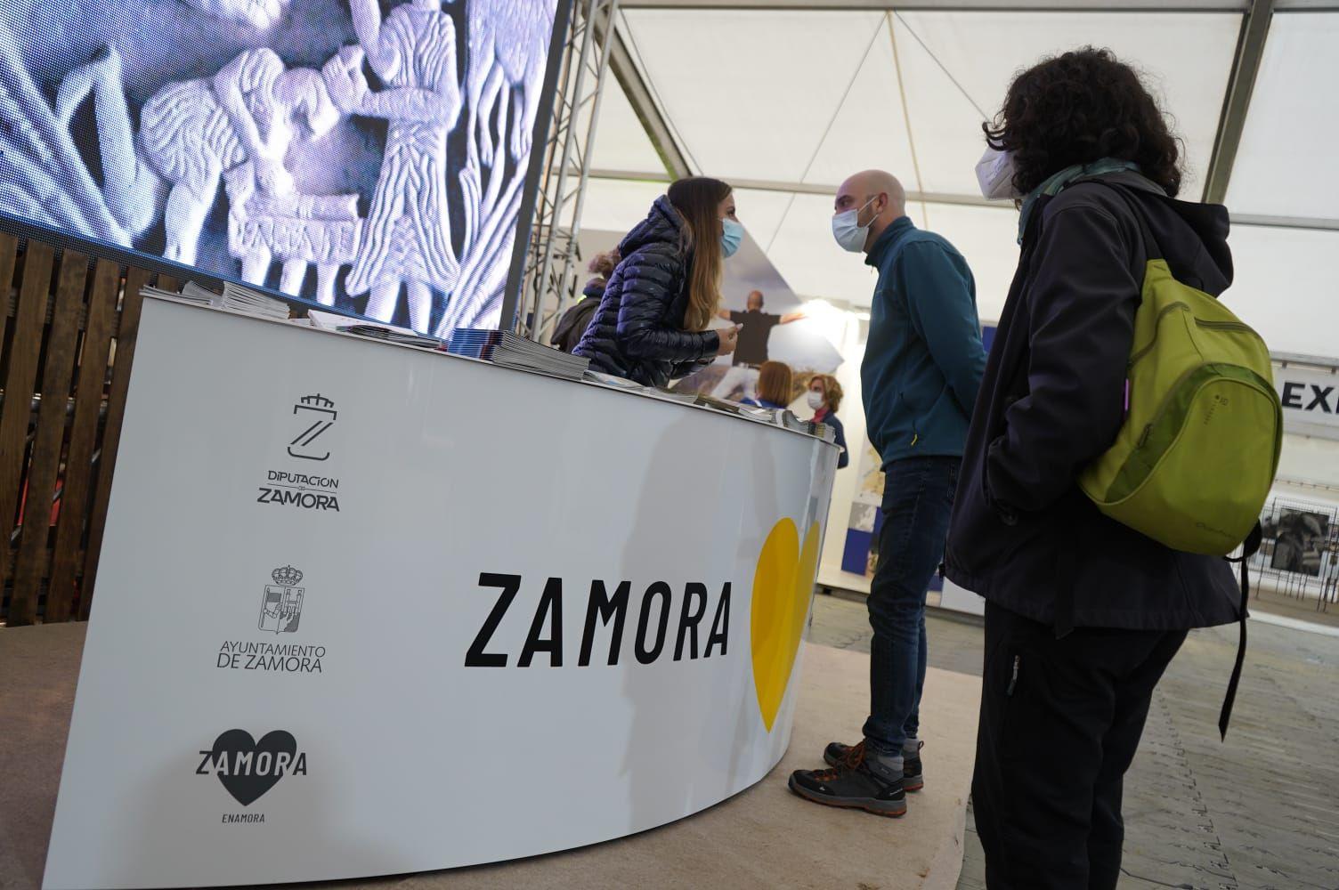 GALERÍA   Zamora se promociona en la feria Naturcyl
