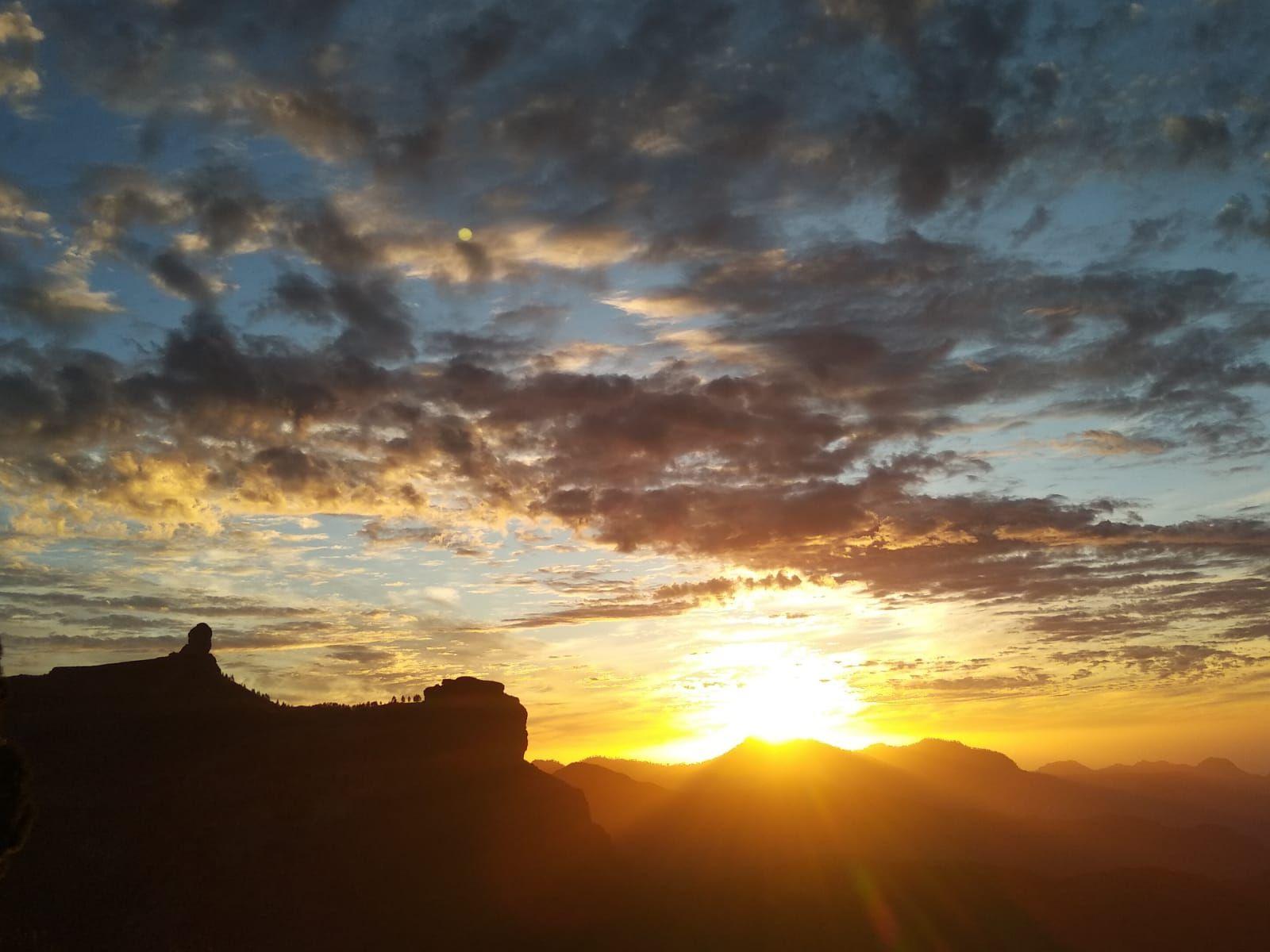 Atardecer en la cumbre de Gran Canaria