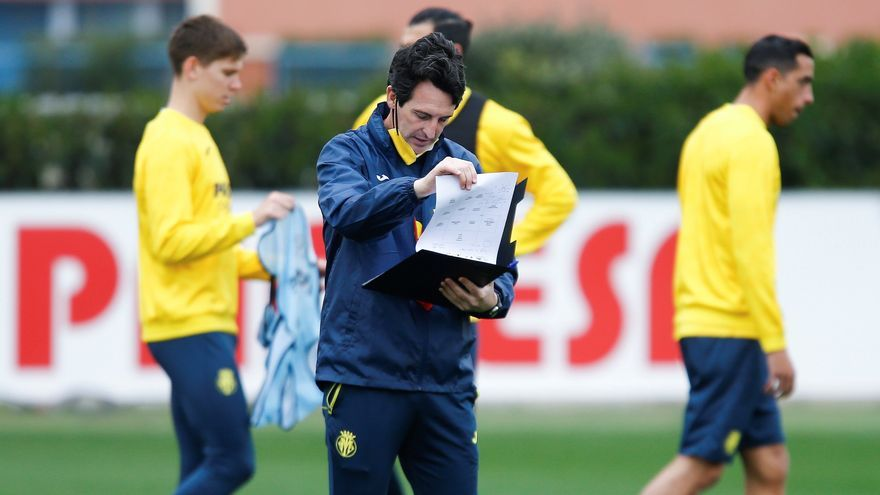 """Emery y su mensaje a la plantilla: """"Defender la 5ª plaza es la motivación del Villarreal"""""""