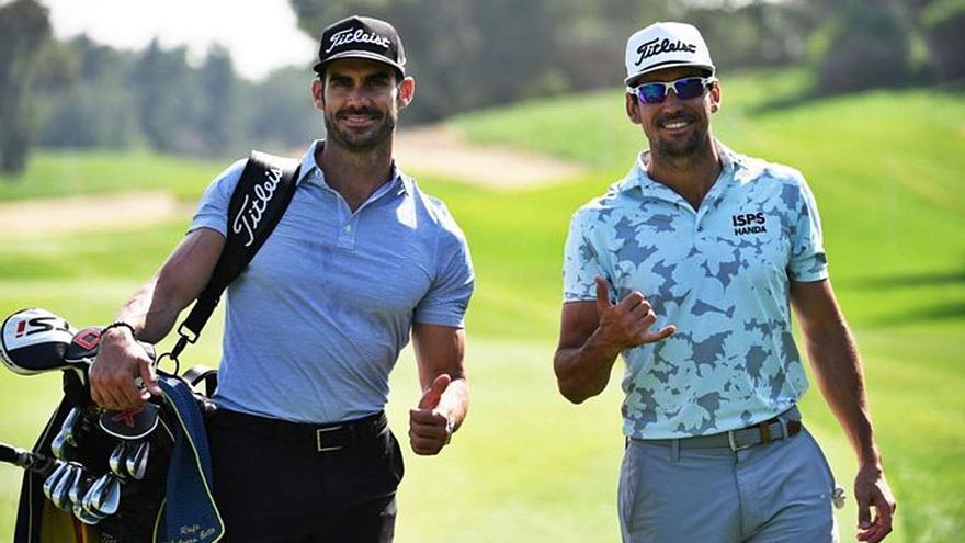 Rafa Cabrera Bello pelea con los mejores en Abu Dhabi