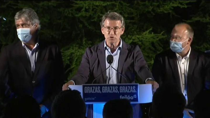 Núñez Feijóo revalida la mayoría absoluta con 41 escaños aunque pierde 57.000 votos