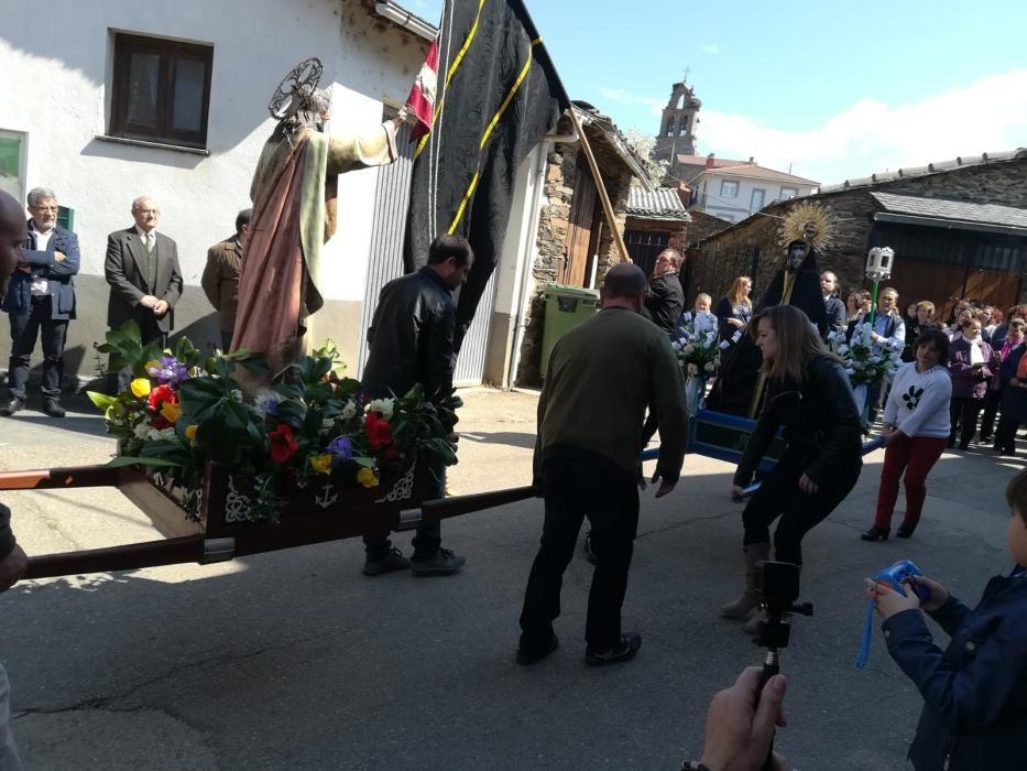 Domingo de Resurrección en Bercianos de Aliste.