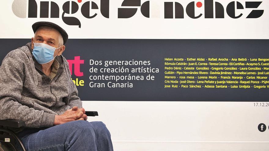 Ángel Sánchez y las alas del poema