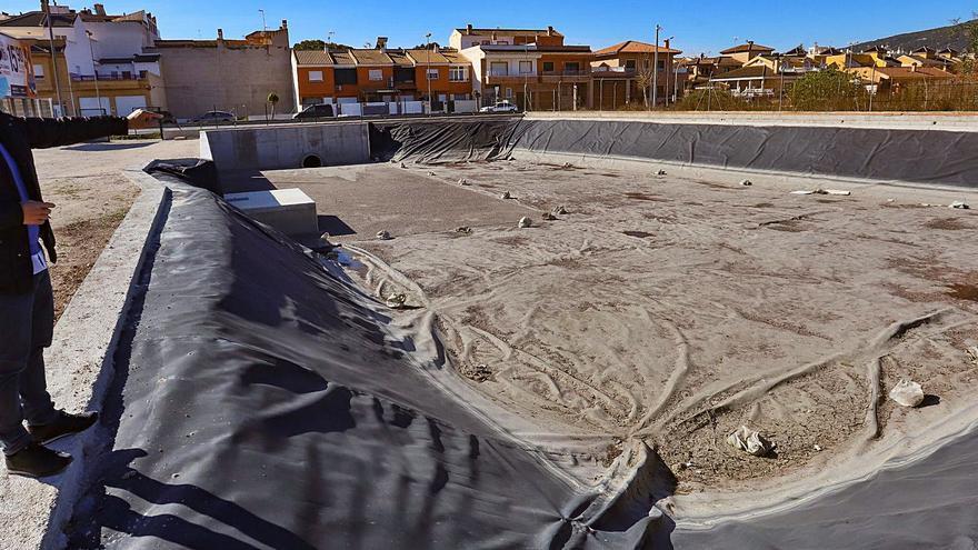 Bigastro evitará inundaciones con un tanque de tormentas de 200.000 litros