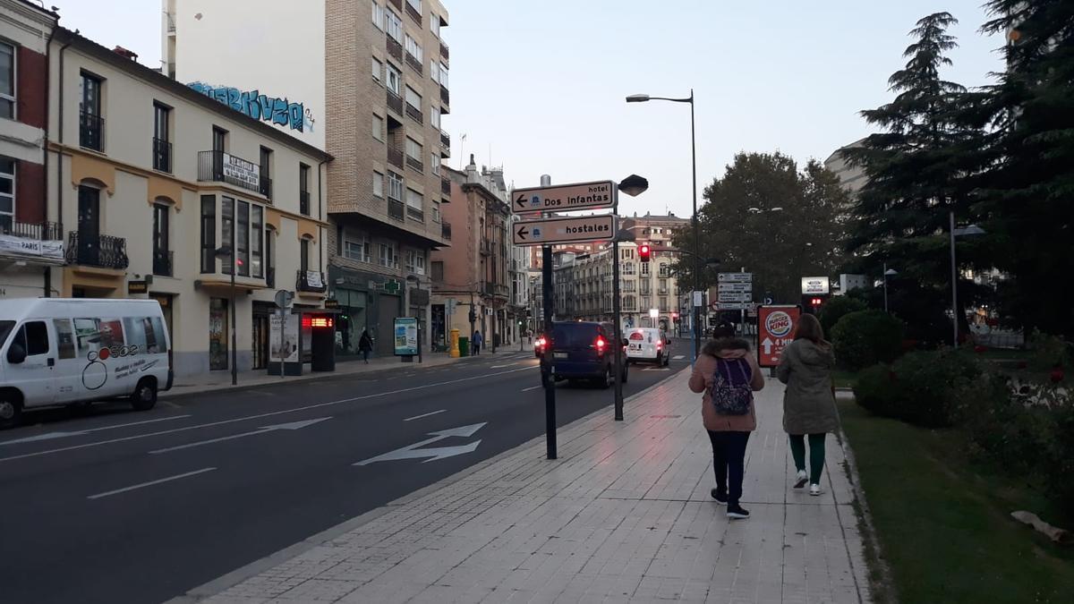 Zamora capital, esta mañana.