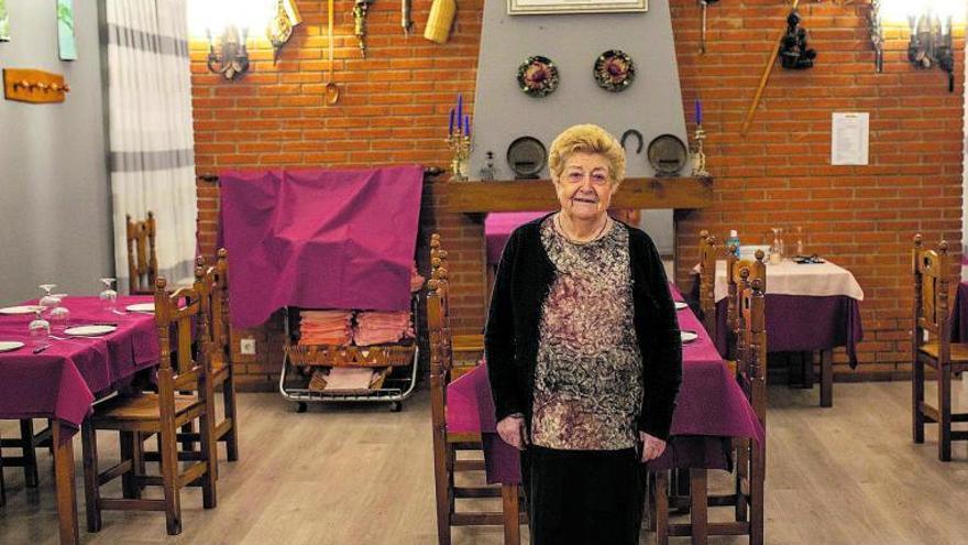 La zamorana Aurelia, el orgullo de un pueblo
