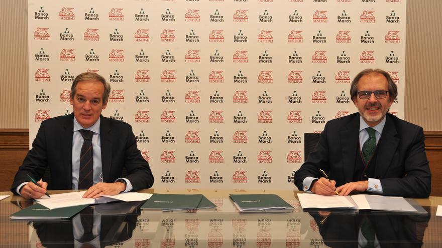 Banca March venderá seguros de Generali durante los próximos 10 años