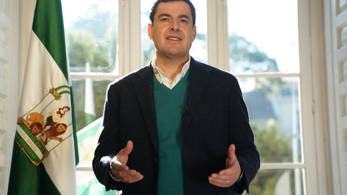El presidente andaluz, Juanma Moreno.
