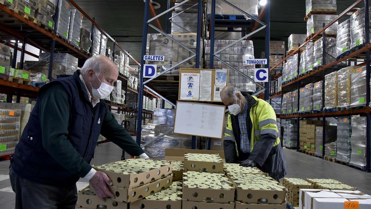 La demanda a Bancos de Alimentos ha aumentado en torno a un 50 %.