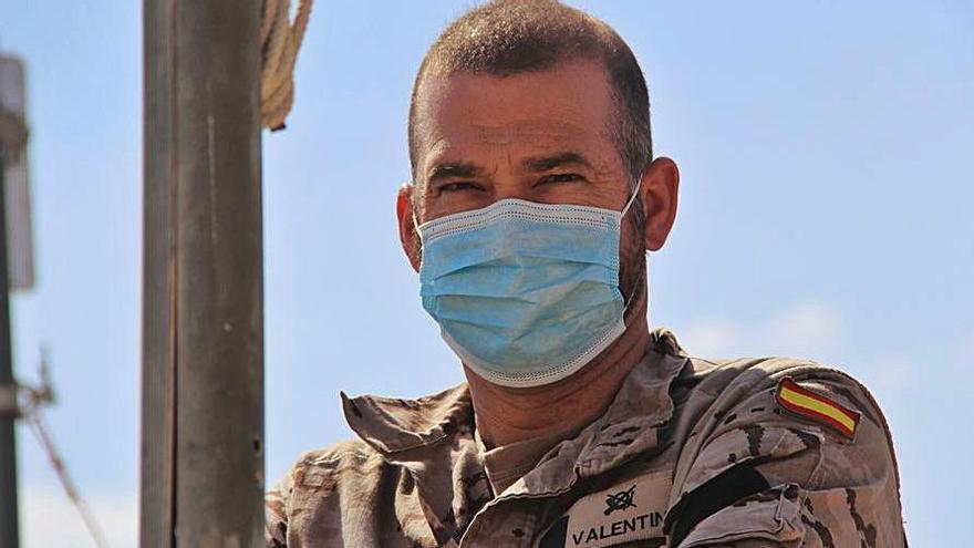 Soldados del Bhelma VI desplegados en Irak celebran el día de su patrona | EL DÍA