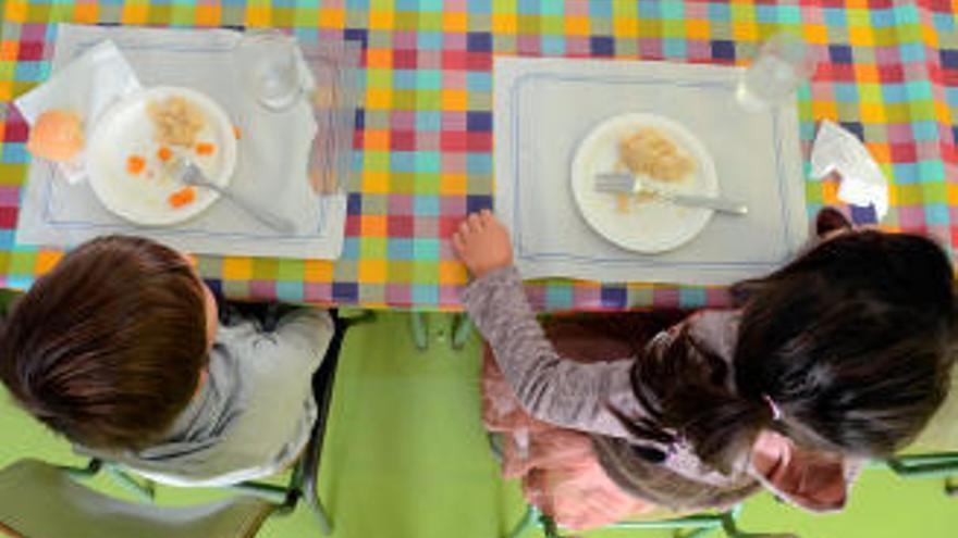 Sanidade investiga 41 casos de intoxicación leve en comedores escolares de Pontevedra y Marín