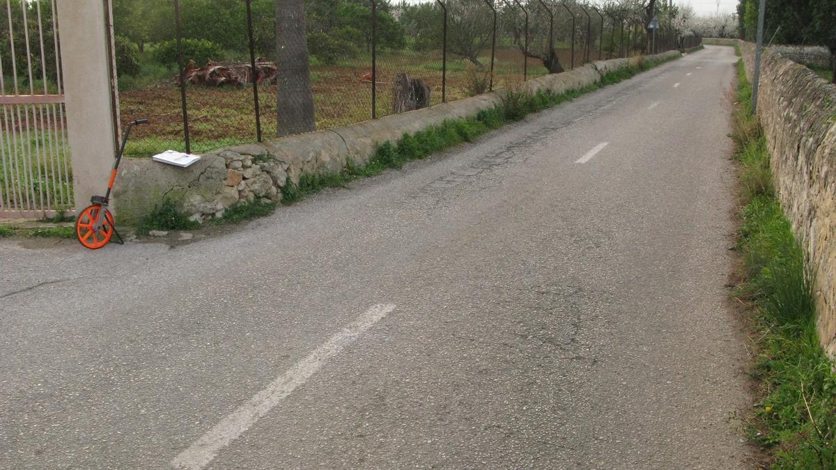 Destinan 256.000 euros a mejorar el camino de la estación de Lloseta