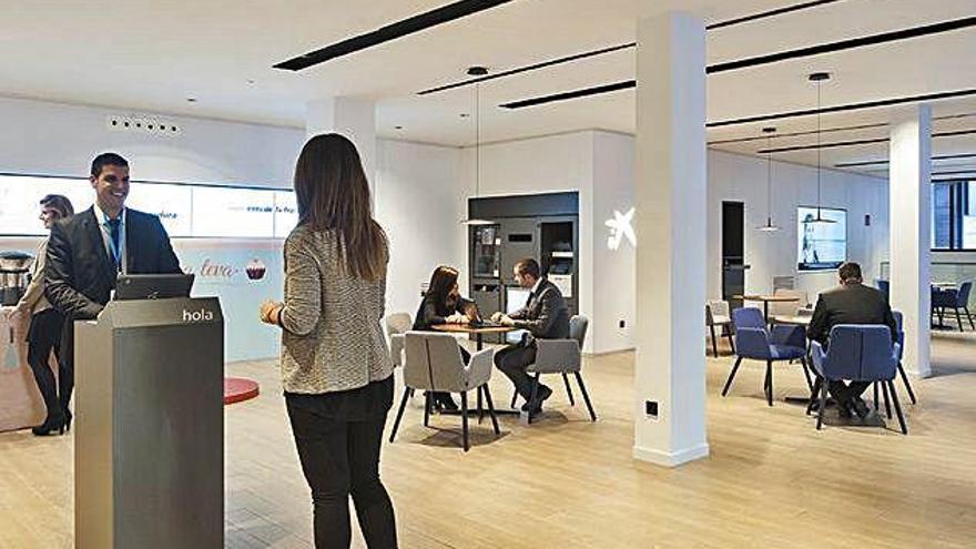 CaixaBank planteja acomiadar 2.157 empleats, el 7,3% de la plantilla
