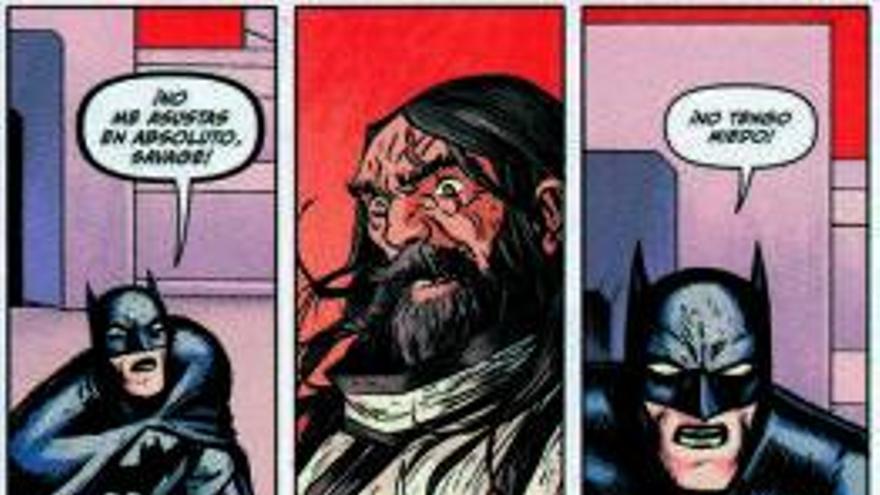 Batman en busca del huevo perdido
