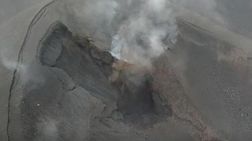 Octavo día de la erupción del volcán