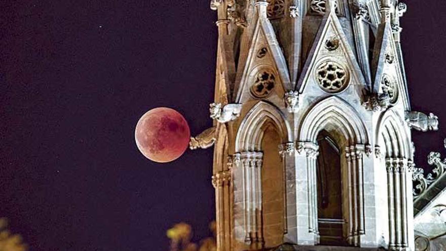Balears, el mejor punto para disfrutar del eclipse de luna