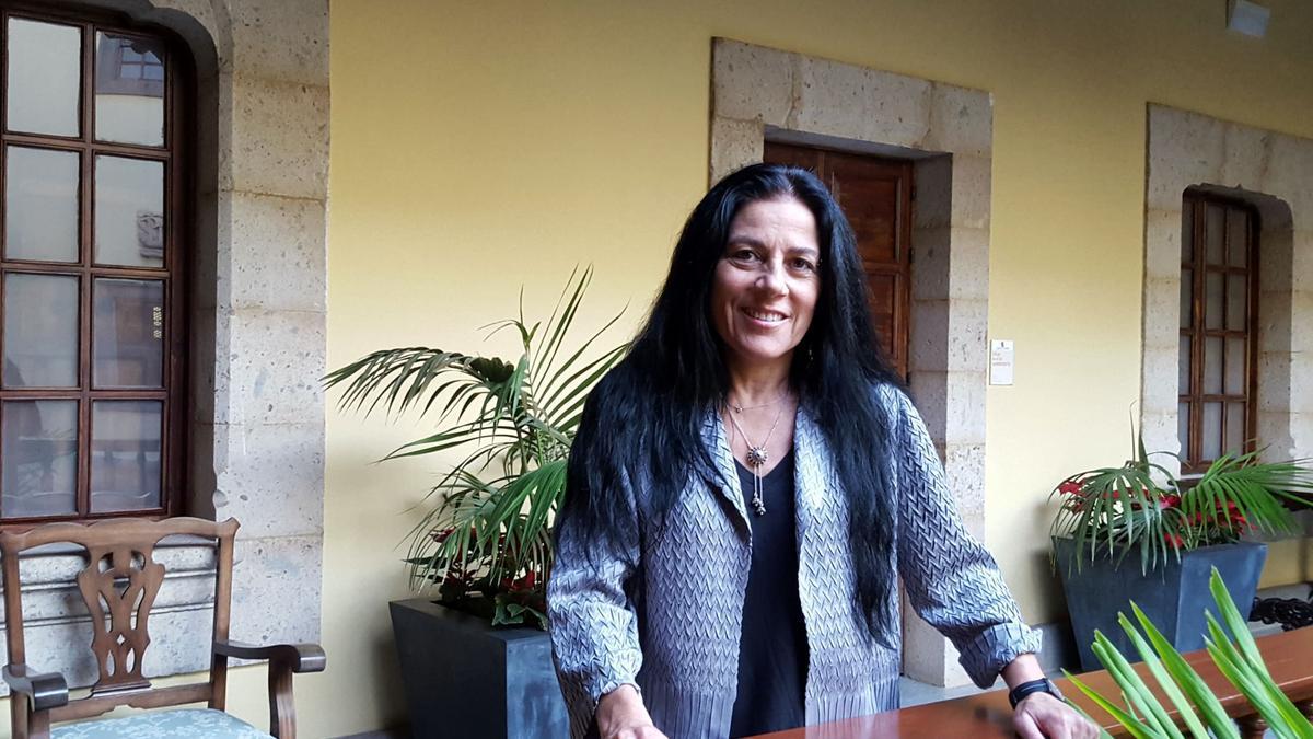 La escritora Sandra Lorenzano.