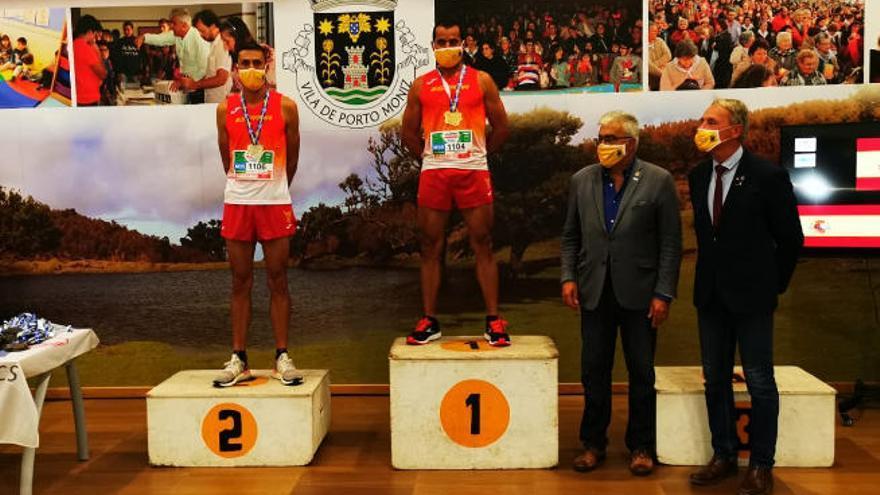 Sánchez, Siverio y Molina sobresalen en el Europeo Master de Montaña 2020