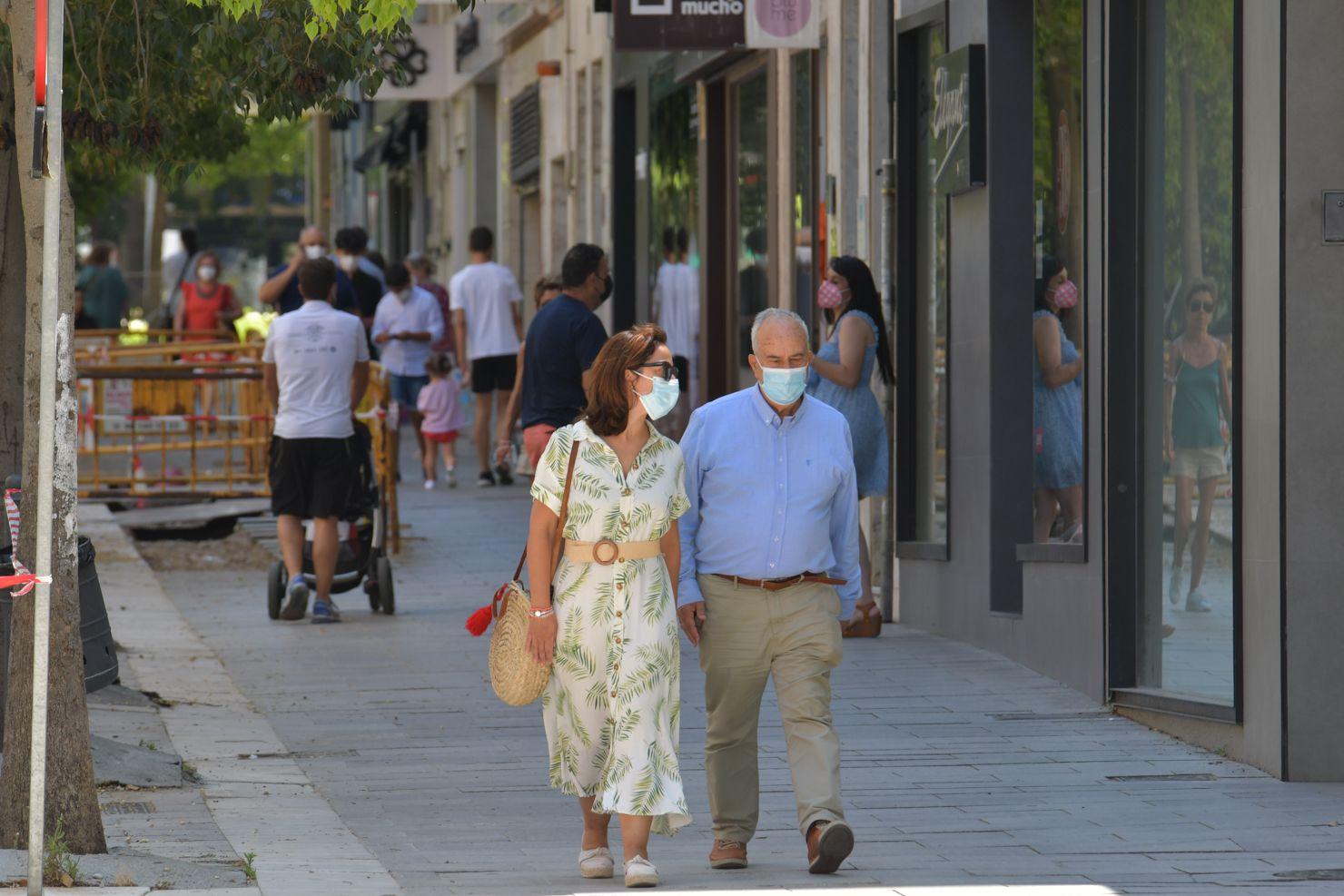 Primer día sin mascarillas en Extremadura