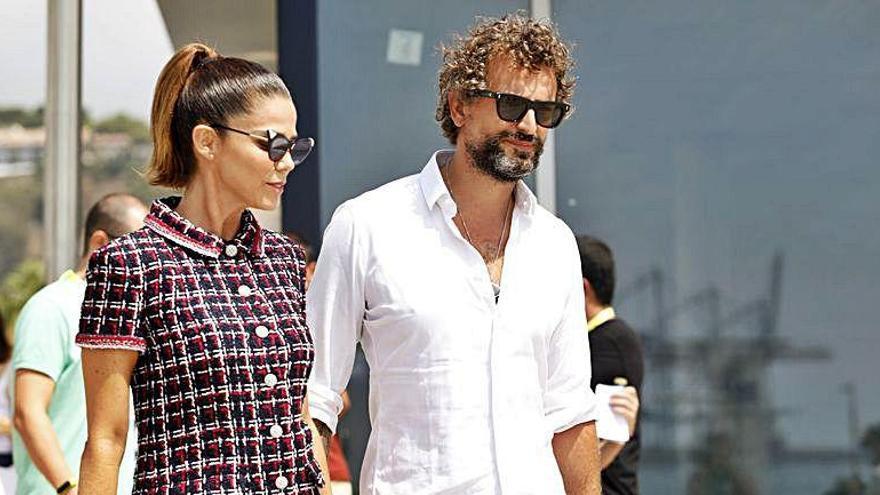 La actriz Juana Acosta presenta a su nueva pareja en Málaga