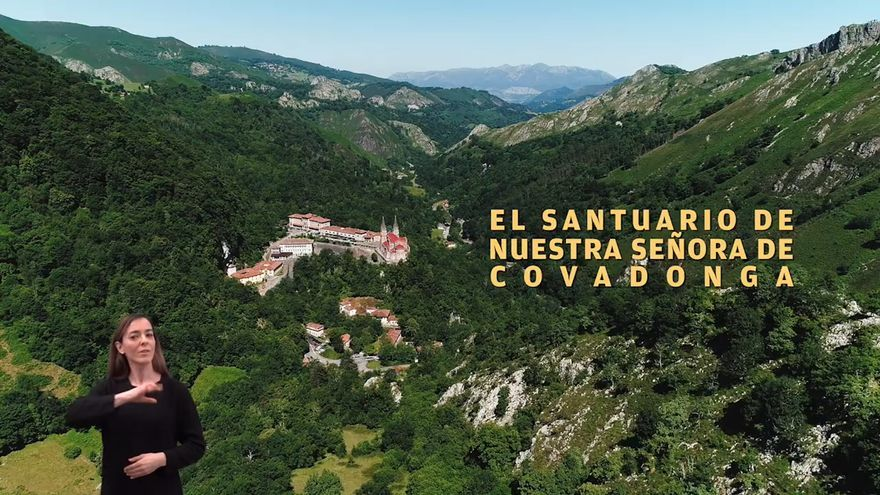 "Covadonga ya tiene su historia ""audiodescrita"""