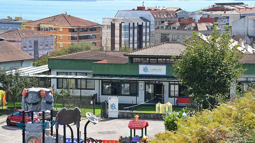Las cuatro guarderías A Galiña Azul empezarán el curso con 181 alumnos