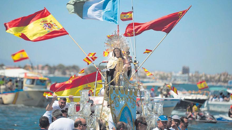 Homenaje a las fiestas centenarias de la Virgen del Carmen
