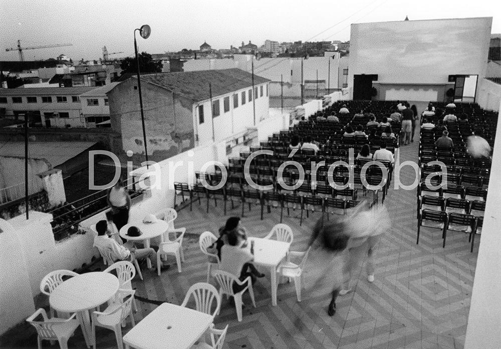 Cine de verano terraza Magdalena.