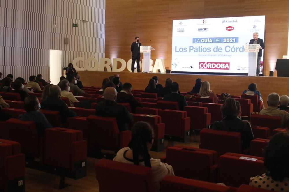 Presentación de la Guía de los Patios de Diario Córdoba