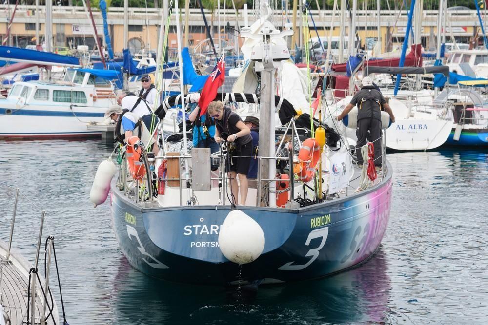Salida de la regata ARC 2019