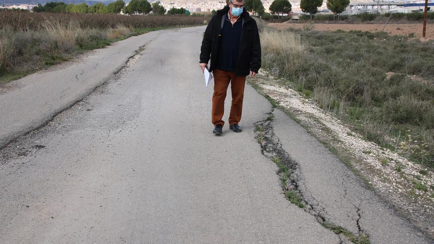 El Ayuntamiento de Jumilla reparará los caminos de Murcia y El Prado