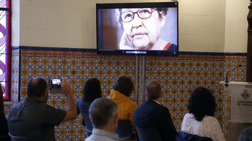 Homenaje a Sol Romeu. Histórica dirigente vecinal