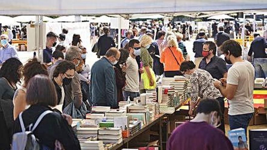 Les comarques gironines van vendre més de 120.000 llibres per Sant Jordi