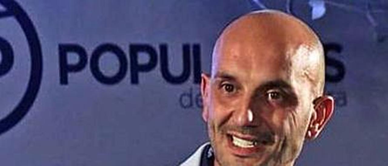 Alejandro Lorenzo, líder del PP.