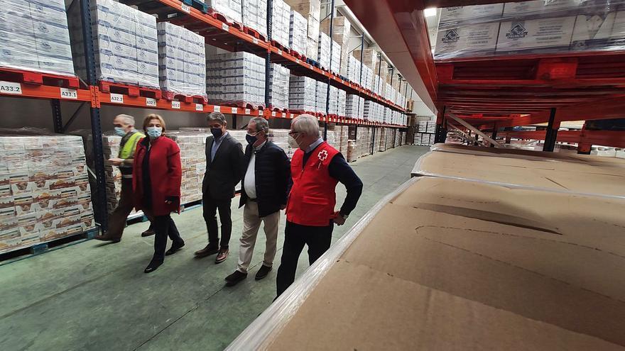 Dos mil asturianos empezaron a depender de la ayuda alimentaria por la pandemia
