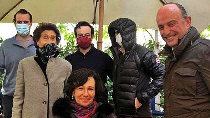Ana Botín celebra su 60 cumpleaños con la familia