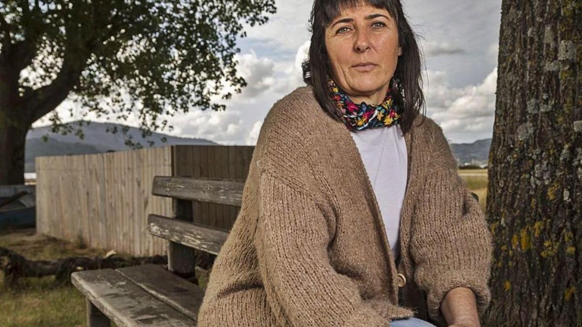 Rita Míguez, presidenta d'Anmupesca