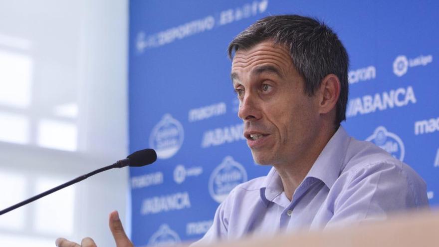 """Carmelo justifica el despido de Mosquera para velar por """"el futuro del Dépor"""""""