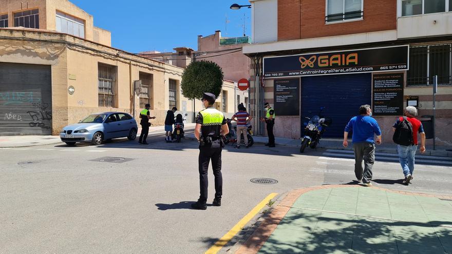 La Policía Local intensifica el control sobre las motocicletas en Petrer