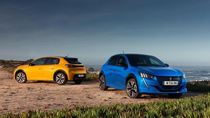 Peugeot lidera el mercado total de turismos y vehículos comerciales