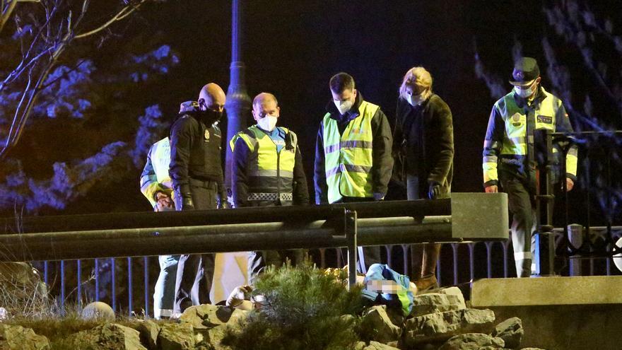 Fallecen un motorista y un peatón en un accidente de tráfico en Palencia