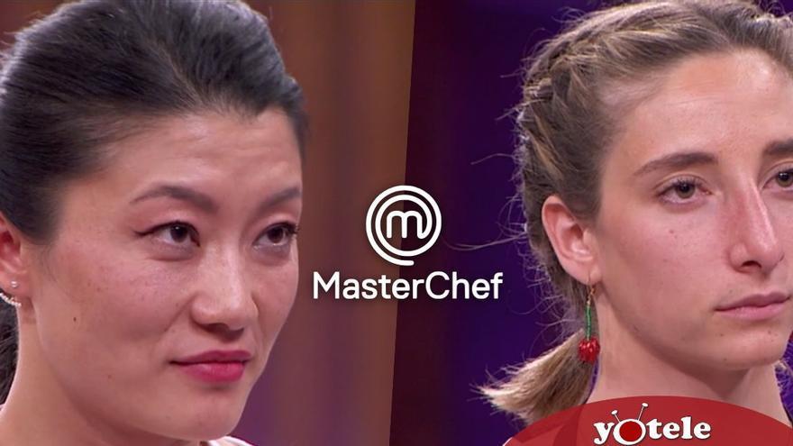 Doble expulsión en 'Masterchef': Jiaping y la favorita Amelicious abandonan las cocinas en una noche accidentada