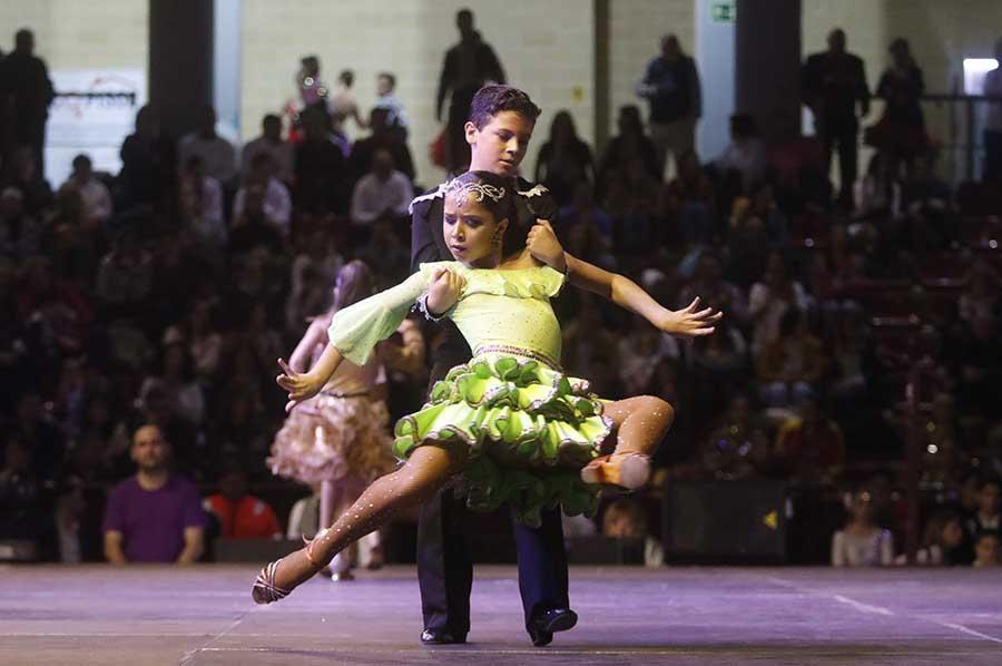 El Campeonato de España y Europa de Baile Retro en imágenes