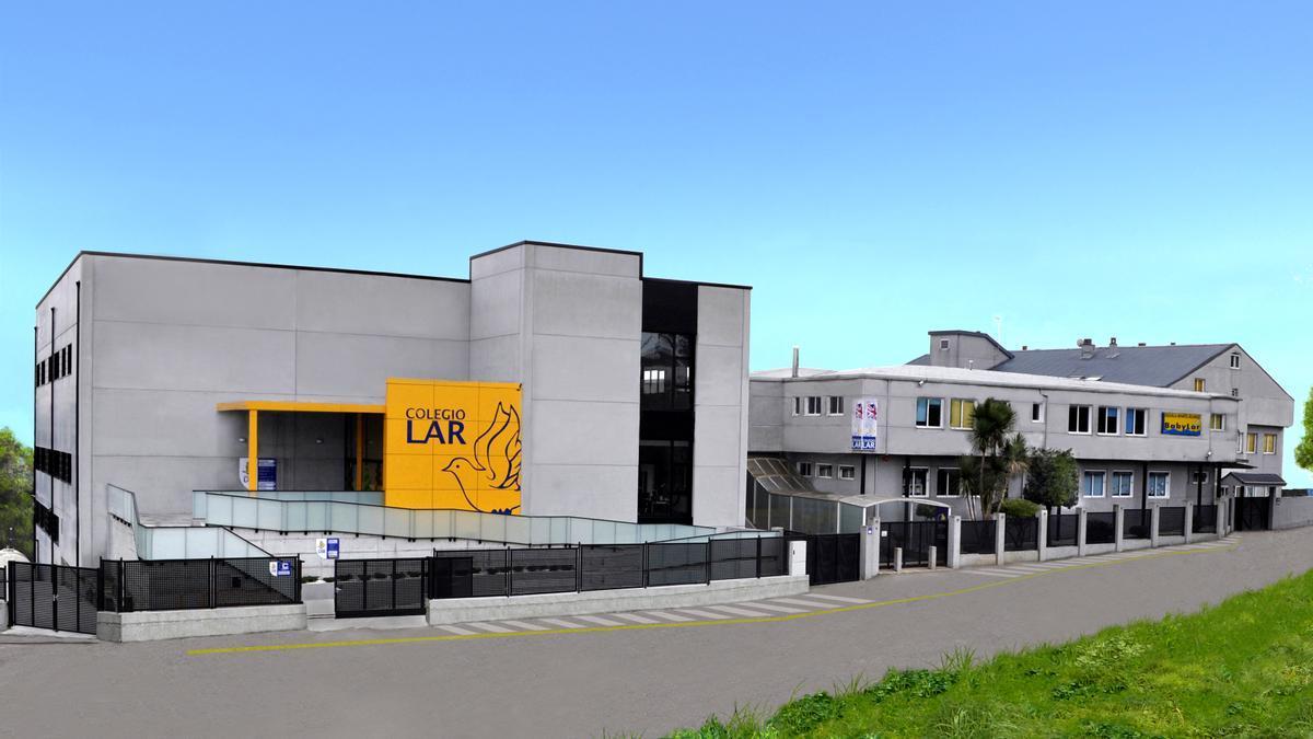 Instalaciones de Colegio Lar, en Mos.